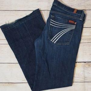 Seven7 Blue Dojo Denim Jeans